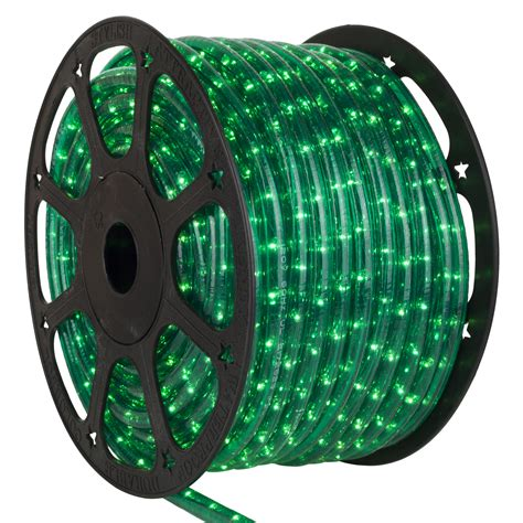 rope light  green mini rope light commercial spool