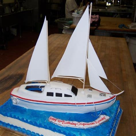 Sailboat Cake Topper by Get Sailboat Cake How To Free Topic