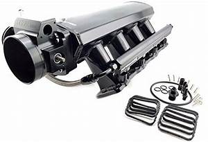 Gm Ls3 L92 Ly6 Custom Aluminum Intake Manifold 102mm