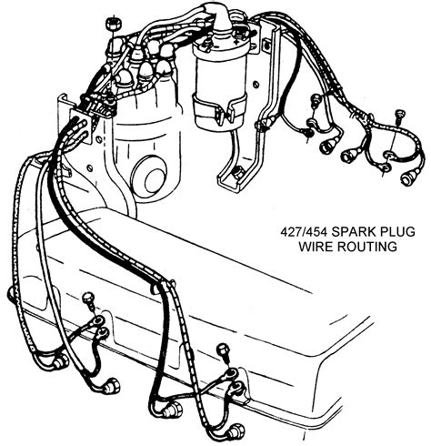 Spark Plug Wire Routing Diagram View Chicago Corvette