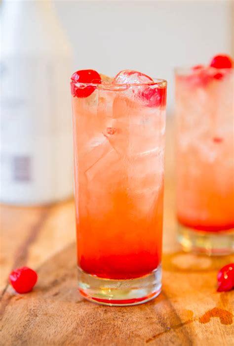 malibu drink fruity coconut rum drink averiecooks com