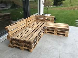 Gartenlounge aus paletten selber bauen heimwerkerking for Französischer balkon mit garten lounge aus europaletten