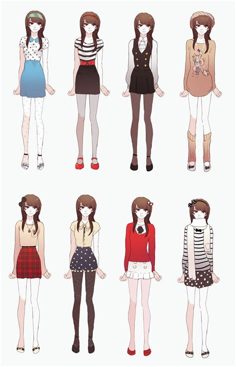 My outfits by GRAVEWEAVER on DeviantArt
