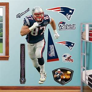 Fathead rob gronkowski new england patriots for Fathead wall decal