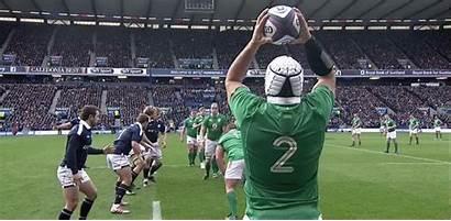 Ireland Lineout France Nations Joe Piece Scottish