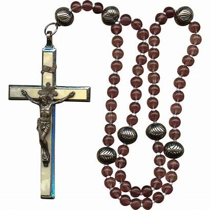 Rosary Catholic German Decade Crucifix Roma Carmelite