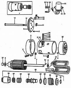 Starter Motor Parts For Ford 8n Tractors  1947