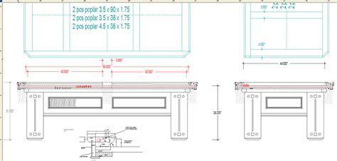 Homeware: Nice Pool Table Dimensions For Best Billiard