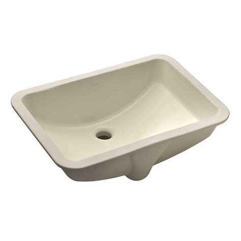 bathroom sink drain home depot kohler ladena vitreous china undermount bathroom sink