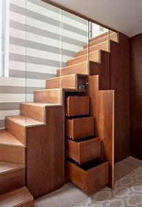 Treppe Mit Schubladen : schrank unter treppe und andere l sungen wie sie f r mehr stauraum sorgen ~ Watch28wear.com Haus und Dekorationen
