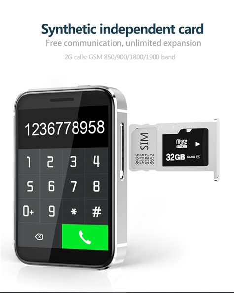 mp3 mobile i5s smart sim mobile supports tf card