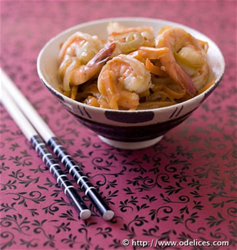 recette de cuisine au wok crevettes sauce piquante au wok les meilleures recettes