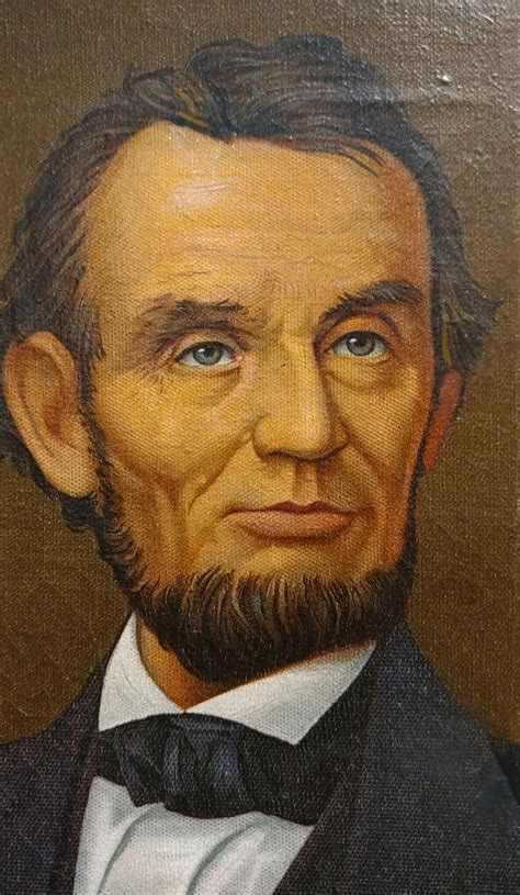 Abraham Lincoln Portrait -Illinois Watch advertising ...