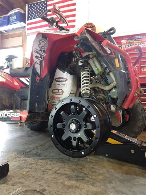 wheel  tire pics thread page  polaris atv forum