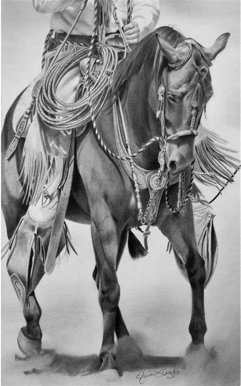 cowboy art images  pinterest drawings