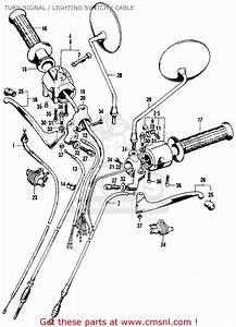 Honda Sl100 Parts Fiche