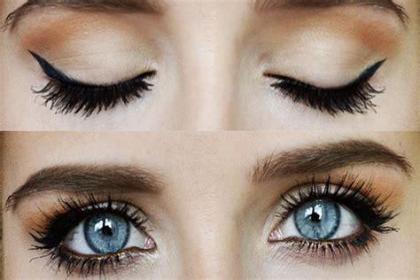 comment maquiller des yeux bleus comment maquiller les yeux en fonction de leur forme leblogduspa