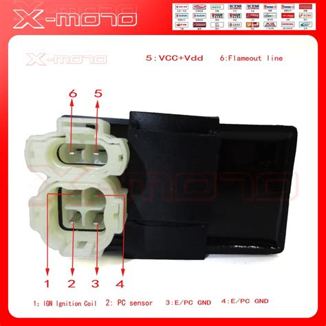 pins dc ignition cdi box  gy cc cc cc cc
