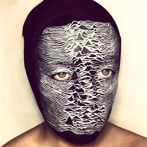 classic album covers  stunning face paint spin