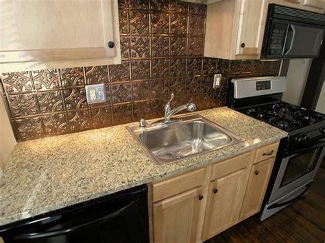 what is a backsplash in kitchen kitchen aluminum backsplash copper backsplashes for
