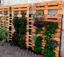 idees de superbe mur vegetal en palette pour votre