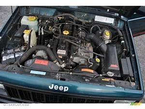 1996 Jeep Cherokee Sport 4wd 4 0 Liter Ho Ohv 12v Inline 6