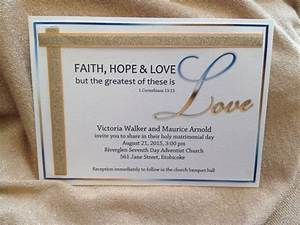 17 best images about wedding invites on pinterest for Samples of christian wedding invitations