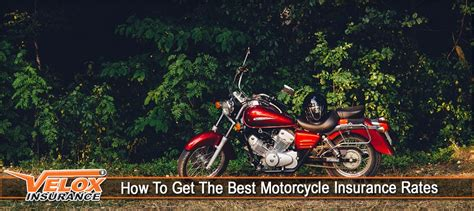 How To Get The Best Motorcycle Insurance Rates