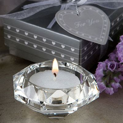 star candle holder clear glass christmas tealight holders