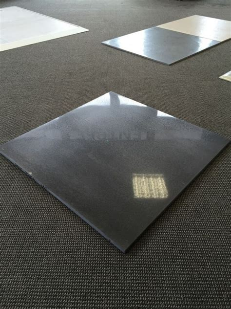 carrelage 80 x 80 poli gris anthracite design and deco