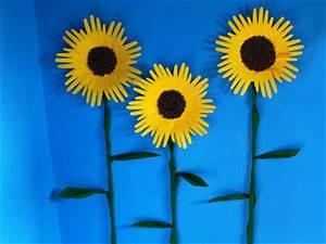 Basteln Mit Senioren Sommer : sonnenblumen mit handabdruck basteln gestalten ~ Eleganceandgraceweddings.com Haus und Dekorationen