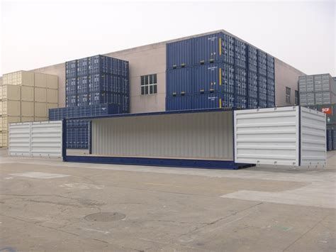 40ft High Cube Full Side Access Storage Container