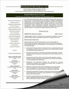 executive resume template doc human resources sharon With executive cv template