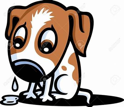Sad Cartoon Dog Clipart Puppy Sadness Crying