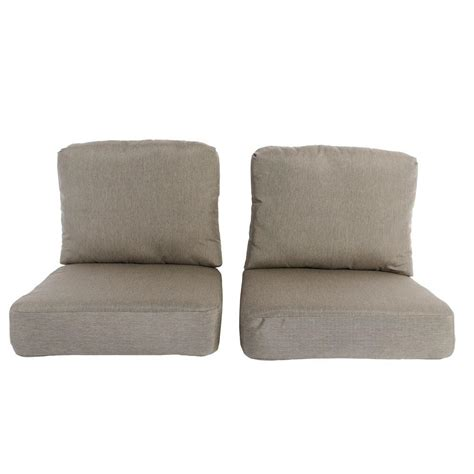 outdoor ls home depot hton bay lynnfield replacement outdoor chair cushion 2