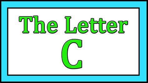 the letter c songs abc songs toddler baby preschool 871 | maxresdefault