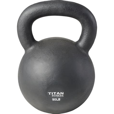 kettlebell swing iron workout weight 5lb cast 100lb fitness lb titan solid natural boxing