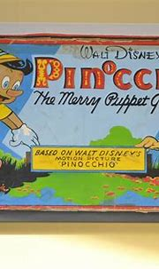 K Henderson - Pinocchio Original Oil Painting Vintage ...