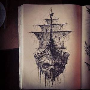 ghost ship | Skull , head , skeleton | Pinterest | Ghosts ...