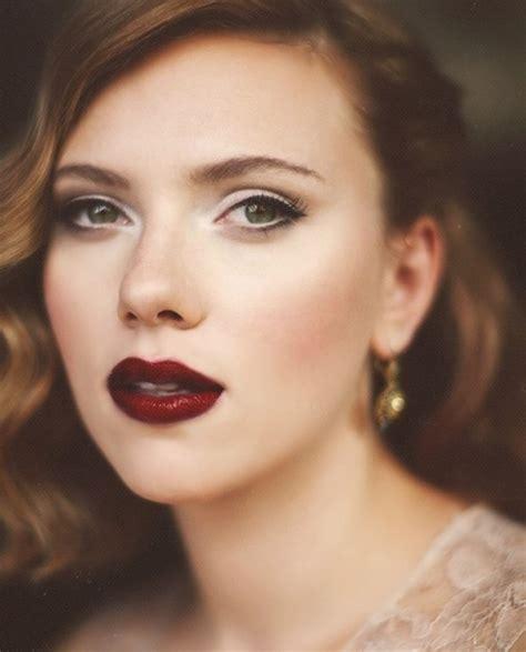 dark lips fallwinter makeup trend fashionsycom