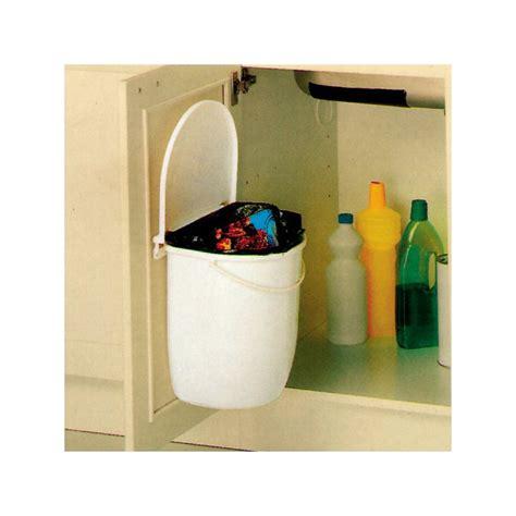poubelle cuisine porte poubelle cuisine pivotante 1 bac 12 litres