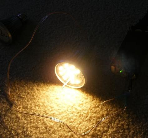 120v led bulb on 12vdc 190ma the hack do it yourself