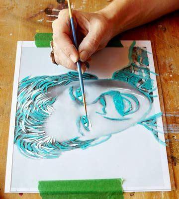 how to paint pop portraits pop portraits