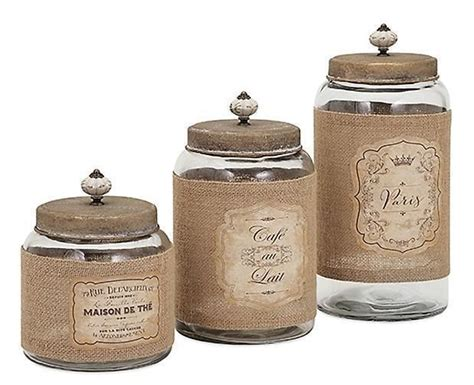 glass kitchen canister sets country glass jars and lids kitchen canister set of