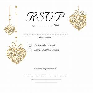 romantic gold heart rsvp 124mm x 124mm wedding cards direct With funny wedding invitations australia