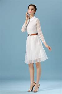 Spring Summer Style Casual Women White Dress | Summer ...