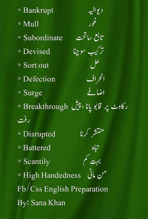 Modification Urdu Meaning by A To Z Vocabulary Words With Urdu Meaning Pdf Archives