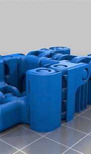 Download free 3D printing templates Kobayashy Fidget Cube ...