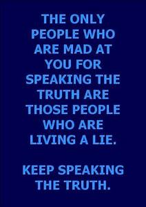 life inspiration quotes: Speaking the truth inspirational ...