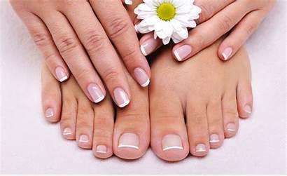 Pedicure Manicure Nails Gel French Pedi Mani